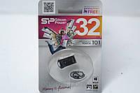 Mini Flash USB 2.0 накопитель SP Silicon Power 101 32 GB, носители информации, флешка, флеш накопитель