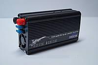 Инвертер напряжения 24/220 1500w TBE ,автомобильный преобразователь 24/220 1500w