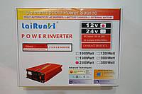 Автомобильный инвертор напряжения 2500w R, преобразователь 12/220 2500w