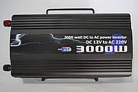 Автомобильный инвертер напряжения 3000w BL, преобразователь 12/220 3000w