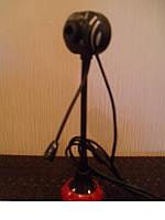 Web камера на ножке c микрофоном Zebra, веб камеры, вебки, скрытные, удобные, с микрофоном