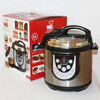 Мультиварка-скороварка Wellberg WB-106 6л, рисоварки, товары для кухни, скороварка, мелкая бытовая техника