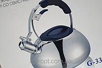Чайник 3.0L Giakoma G-3305 для газовых и электрических плит, чайники, кухонная техника, товары для кухни