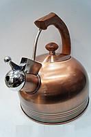 Чайник 2.5L Giakoma G-3304 для газовых и электрических плит, кухонная техника, товары для кухни, чайники, элек