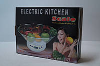 Весы кухонные с чашей 5 кг Matrix ЕK-01, кухонные весы, торговые весы, бытовые весы, весы специального назначе