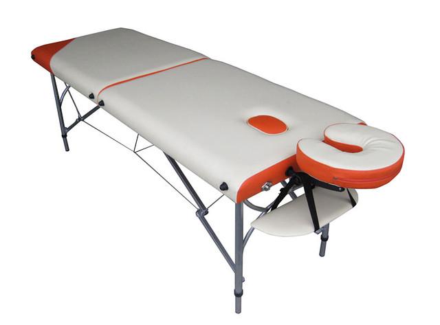 Перетяжка медицинских кушеток и массажных столов