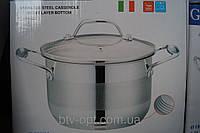 Кастрюля Giakoma 22см 5.1L G-2802-22, кастрюли, нержавеющие кастрюли, сковородки, кухонная посуда, качество