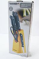 Кухонный набор ножей Kaizer Hoff 5+1, набор принадлежностей , кухоный набор, 6 предметов , качество