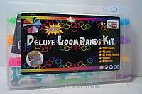 Набор цветных резинок для плетения браслетов Deluxe Loom Bands Kit, резинки для плетения, детские товары