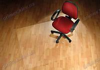 Ковер под кресло для защиты пола прозрачный 150х200см. Толщина 2,0мм