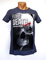 Мужские футболки Fear of Death - №1660