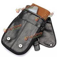 Мужская повседневная небольшая сумка талии пакет crossbody сумки