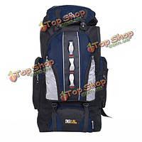 90л емкость водонепроницаемый нейлон на открытом воздухе сумки альпинизму путешествия спортивный рюкзак