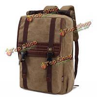 Kaukko мужчин плечи путешествия школы многофункциональный рюкзак персонализированные холст сумки для компьютера