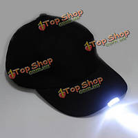 5 LED зажгли бейсбол с батареями двойными крышками видения