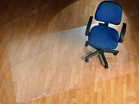 Ковер под кресло для защиты пола прозрачный 100х200см. Толщина 2,0мм