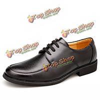 Зашнуровать формальные бизнес обувь из мягкой кожи платье партии обуви
