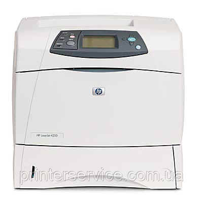 Бу принтер HP LaserJet 4250n формата А4 в хорошем состоянии