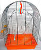 Клетка для попугая Люси (цинк) 470х300х670