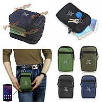 Универсальный многофункциональный открытый дорожная сумка талии для пеших восхождений для iPhone 6/6s плюс Samsung