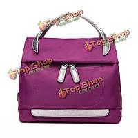Женщины нейлон двойной молнии сумки дамы случайные сумки на ремне на открытом воздухе путешествия Crossbody сумки