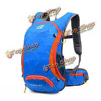 Tanluhu на открытом воздухе водонепроницаемый езда походы отражающей полосой рюкзак бутылка карман плечо сумку