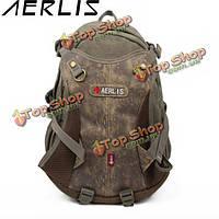 Aerlis мужчины холст случайный открытый большой туристические походы плечи рюкзак сумка