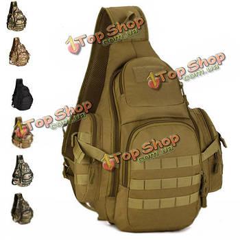 На открытом воздухе грудь спорт дорожная сумка военный нейлон плечо сумка Кроссбоди Tactical люди