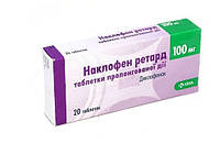Наклофен Ретард - Нестероидное противовоспалительное средство - таб. 100 мг № 20