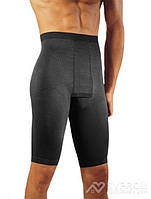 Шорты мужские удлиненные Solidea Panty Contour, черный, XXL