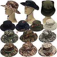Военный камуфляж шляпа Boonie крышка широкими полями камуфляж кемпинг охоты крышка