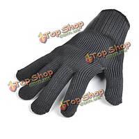 Рабочие защитные перчатки 5-го уровня порезостойкие против безопасности ссадины диких поставок самообороны