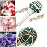 Пены держатель ручки свадебный букет флористический свадебный цветок держатель Сделай сам