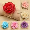 Свадебный невесты пены искусственного розового цветка эластичной резиновой ленты поставки запястья руки букетик свадьба партии