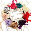 Свадебные розы ленты запястья цветок невесты корсаж браслет украшение свадебного банкета