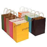 21 * 27 * 11см бумага подарочной упаковки хозяйственная сумка многоцветной питания свадьба, фото 1