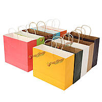 42 * 31 * 13см бумага подарочной упаковки хозяйственная сумка многоцветной питания свадьба
