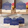 1шт синий бумага лазера выдолбить бриллиантовой свадьбы коробка конфет сладкий Cake подарочные пакеты благосклонности партии