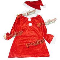 Рождественский вечер девушки дети рождества косплей костюм