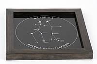 Подарок Близнецу — панно с изображение созвездия Близнецов, фото 1