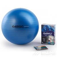 Мяч Gymnastik Ball LEDRAGOMMA Maxafe,диам. 42 см, синий
