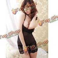 Сексуальные женщины горячее женское бельё платья Babydoll костюма ночной рубашке