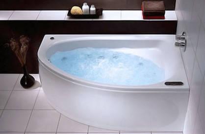 Акриловая ванна Kolo Spring 1600х1000х615 с ножками XWA3060 (Правая), фото 2
