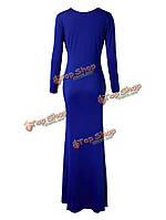 Коктейльное платье макси красивое элегантный