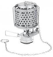 Лампа с пьезоподжигом и металлическим плафоном, в футляре