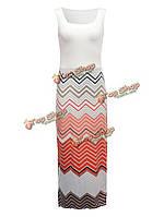 Сексуальный Женское богемный волна распечатаны лоскутное рукавов макси сарафана