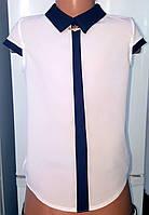 Белая блуза для девочки  . р.30-38