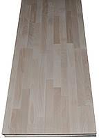 Деревянний сращенный щит из бука 2000х1000х20