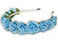 Ободок украшение для волос Розы