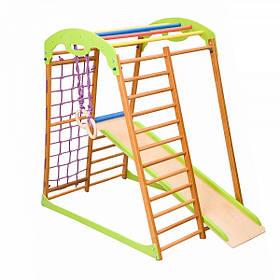 Детский спортивный комплекс для дома BabyWood (ТМ SportBaby)